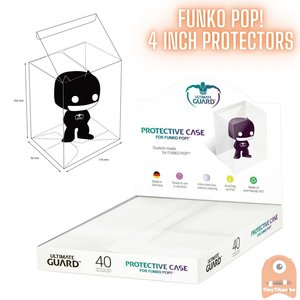 20 Ultimate Guard Funko POP Protectors