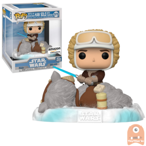 POP! Deluxe, Star Wars: Battle at Echo Base Series - 6 Inch Han Solo w/ TaunTaun #373 Exclusive