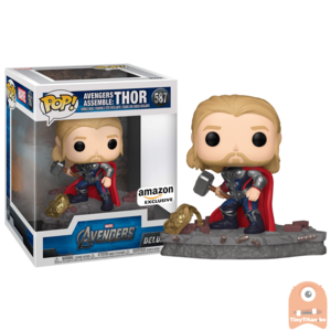 POP! Deluxe, Marvel: Avengers Assemble Series - Thor #587 Exclusive
