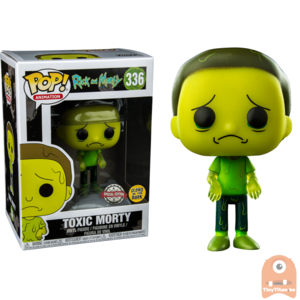POP! Animation Toxic Morty GITD #336 Rick and Morty Exclusive
