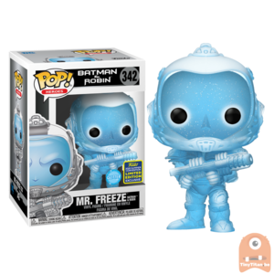 POP! Heroes Batman & Robin - Mr Freeze Glitter #342 SDCC Exclusive
