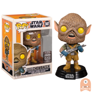 POP! Star Wars Chewbacca Concept Series #387 Galactic Convention Exclusive