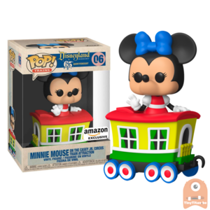 POP! Disneyland: 65th Anniversary - Minnie Mouse on Casey Jr. Circus Train Attraction Pop! #06 Exclusive