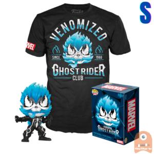 Funko POP! & TEE BOX Ghost Rider - Venomized Ghost Rider GITD Exclusive - Small