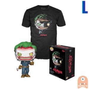 Funko POP! & TEE BOX The Joker GITD - Death of the Family Exclusive - Large