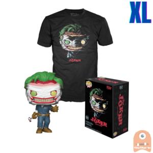 Funko POP! & TEE BOX The Joker GITD - Death of the Family Exclusive - X-Large