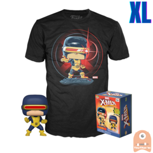 Funko POP! & TEE BOX Cyclops GITD - First Appearance Exclusive - X-Large