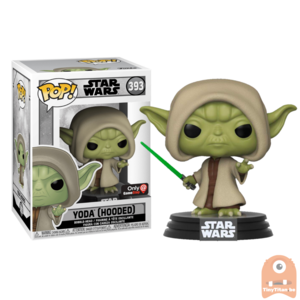 POP! Star Wars Yoda Hooded #393 Exclusive