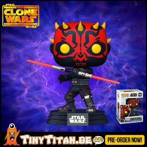 Funko POP! Darth maul - Star Wars Clone Wars Pre-Order