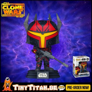 Funko POP! Darth maul's Captain - Star Wars Clone Wars Pre-Order