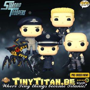 Funko POP! Bundle of 5 - Starship Troopers Pre-Order