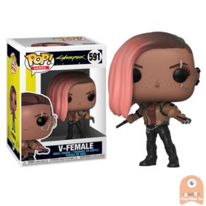 POP! Games V-Female #591 Cyberpunk 2077