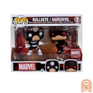 POP! Marvel Bullseye / DareDevil 2-Pack Collectors Corps Exclusive