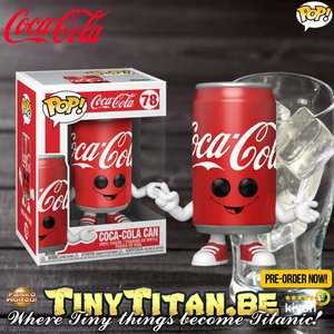 Funko POP! Coca-Cola Can Pre-Order