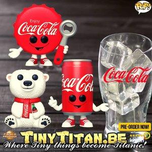 Funko POP! Coca-Cola Bundle of 3 Pre-Order