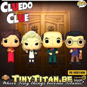 Funko POP! Bundle of 4 - Clue / Cluedo Pre-Order
