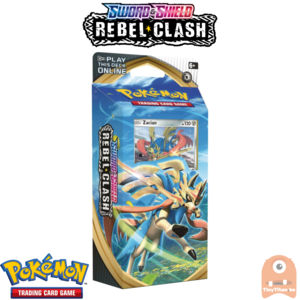 Pokémon TCG Sword and Shield- Rebel Clash Theme Deck Zacian