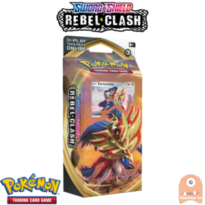 Pokémon TCG Sword and Shield- Rebel Clash Theme Deck Zamazenta
