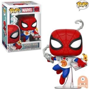 POP! Marvel Spider-Man w/ Pizza #672 Exclusive