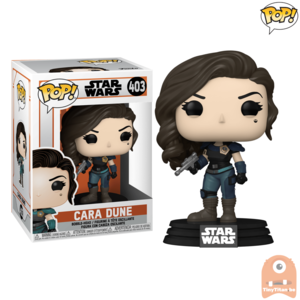 POP! Star Wars Cara Dune - Blaster #403 The Mandalorian
