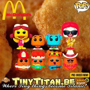 Funko POP! Ad Icons McDonald's - Bundle of 7 Pre-Order