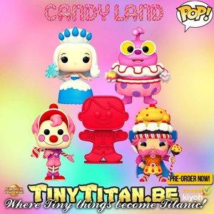 Funko POP! Retro Toys Candy Land - Bundle Of 5 - Pre-Order