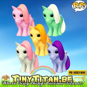 Funko POP! Retro Toys My Little Pony - Bundle of 5 - Pre-Order