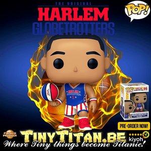 Funko POP! NBA Harlem Globetrotters Pre-Order