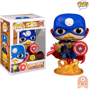 POP! Marvel Soldier Supreme GITD #679 Infinity WARPS Exclusive