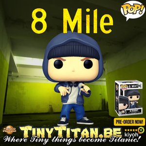 Funko POP! Eminem - 8 Mile B-Rabbit Pre-Order