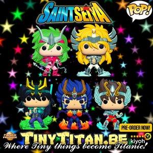 Funko POP! Bundle of 5 - Saint Seiya Pre-Order