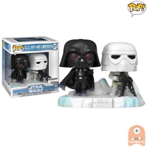 POP! Deluxe, Star Wars: Battle at Echo Base Series - 6 Inch Darth Vader & SnowTrooper #377 Exclusive