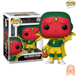POP! Marvel Vision  Halloween #716 Wanda Vision