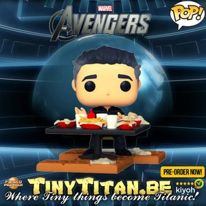 POP! Deluxe, Marvel Avengers: Victory Shawarma Series - Bruce banner #755 Exclusive