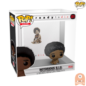 POP! Rocks Albums: Notorious B.I.G. - Ready To Die #01 /w Case