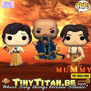Funko POP! Bundle of 3 - The Mummy 2008 Pre-Order