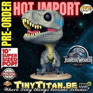 Funko POP! Blue 10 INCH - Jurassic World Exclusive Pre-order