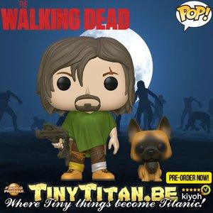 Funko POP! Daryl w/ Dog - The Walking Dead Pre-order
