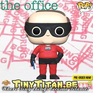 Funko POP! Kevin as Dunder Mifflin Superhero - The Office Pre-order