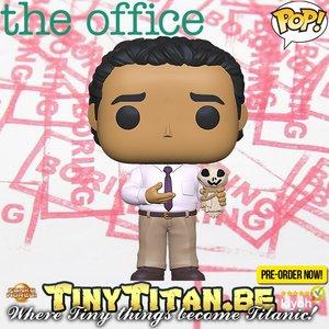 Funko POP! Oscar w/ Ankle Attachments - The Office Pre-order