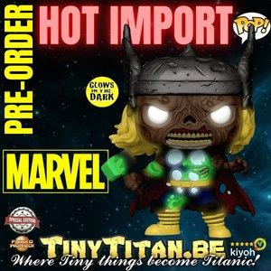 Funko POP! Zombie Thor GITD - Marvel Zombies Exclusive Pre-order