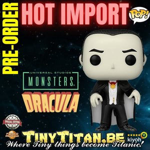 Funko POP! Dracula - Universal Monsters Exclusive Pre-order