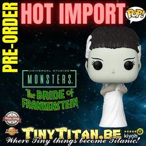 Funko POP! Bride of Frankenstein - Universal Monsters Exclusive Pre-order