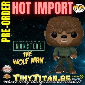 Funko POP! Wolf Man - Universal Monsters Exclusive Pre-order