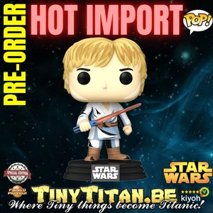 Funko POP! Retro Luke Skywalker - Star Wars Exclusive Pre-order
