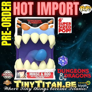 Funko POP! Mimic w/ D20 6 INCH - Dungeon & Dragons Exclusive Pre-order