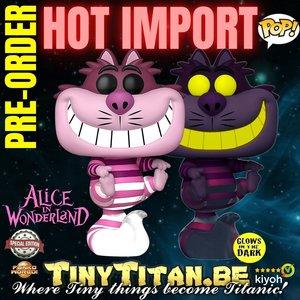 Funko POP! Cheshire Cat Translucent GITD - Disney Alice in Wonderland Exclusive Pre-order