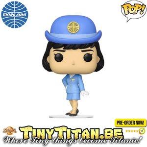Funko POP! Stewardess Without Bag - Pam Am Pre-order