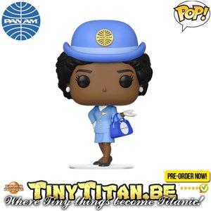 Funko POP! Stewardess W/ Blue Bag - Pam Am Pre-order