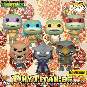 Funko POP! Bundle of 7 - Teenage Mutant Ninja Turtles Movie Pre-order